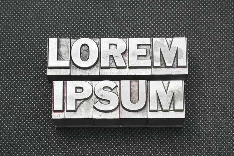 lorem ipsum dummy text