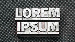 Lorem Ipsum Dummy text that's not for dummies