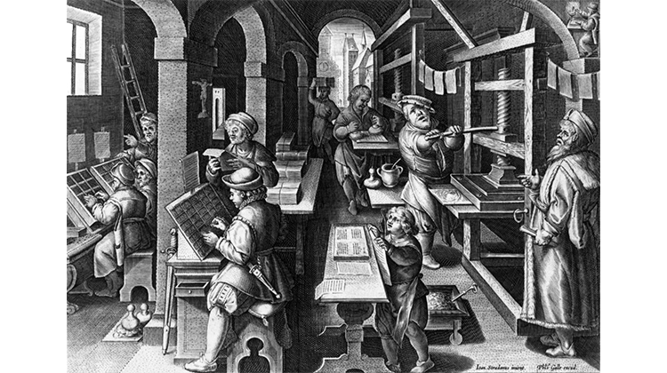 printing press 1440