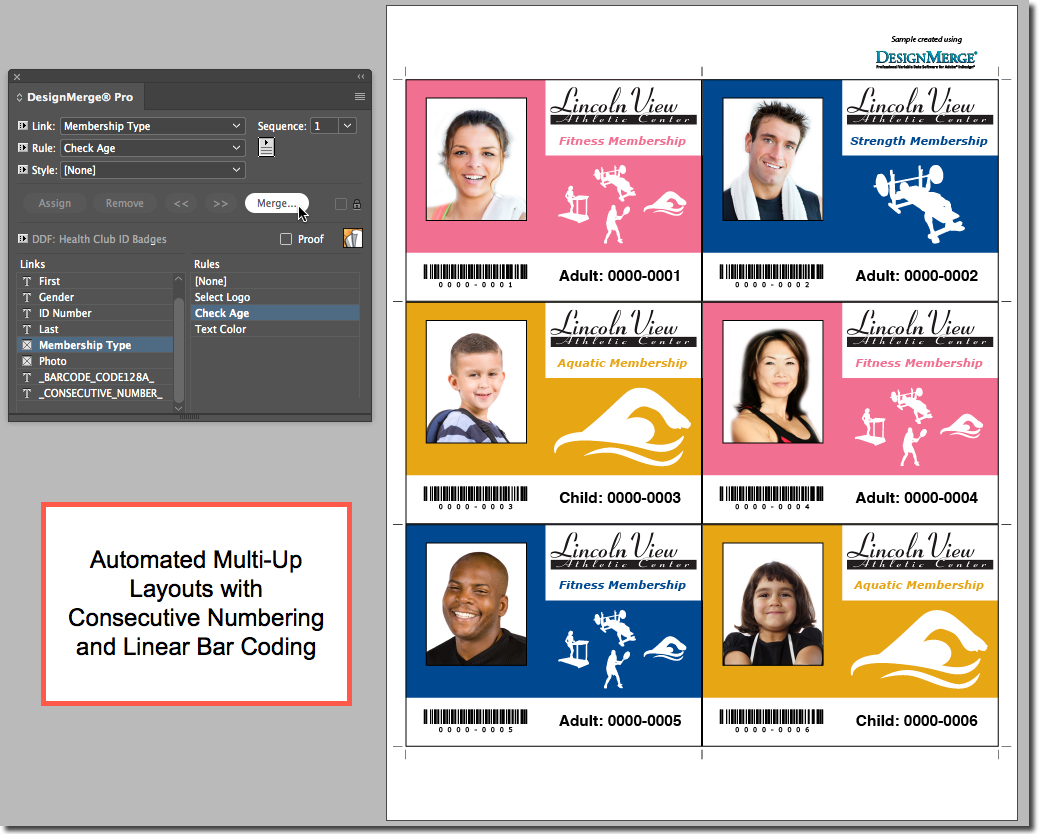 DesignMerge Pro for Adobe InDesign   Enfocus
