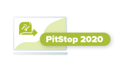 PitStop 2020 logo graphic