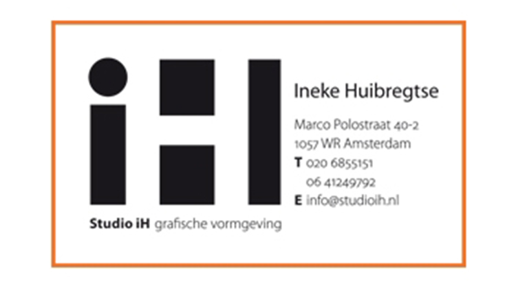 Studio iH Logo Business Card