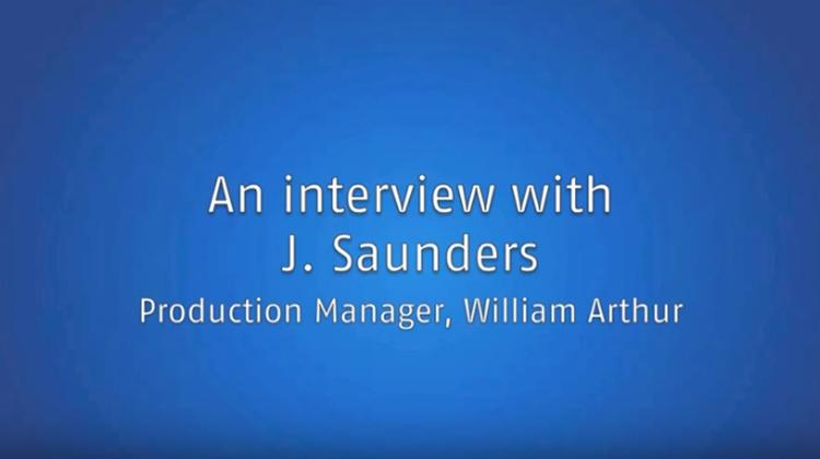william arthur interview saunders