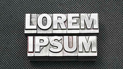 Lorem Ipsum Dummy text that's not for dummies