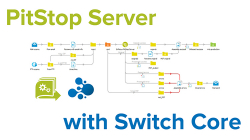 pitstop server with switch core