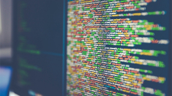 image of programming code