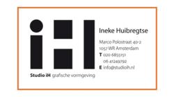 Studio iH Logo Business Card